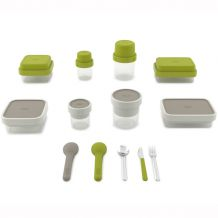 Lunch box JOSEPH JOSEPH GoEat, 500/ 700 ml, zelený | BUYDESIGN