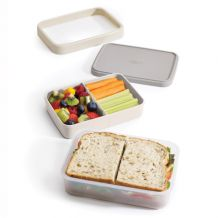 Lunch box JOSEPH JOSEPH GoEat, 500/ 700 ml, šedý