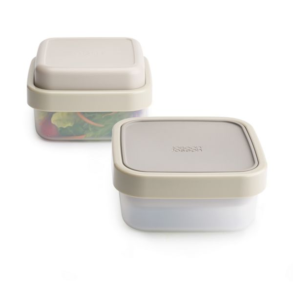 Salad box JOSEPH JOSEPH GoEat, 400/700/20ml, šedý