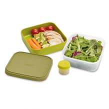 Salad box JOSEPH JOSEPH GoEat, 400/700/20ml, zelený
