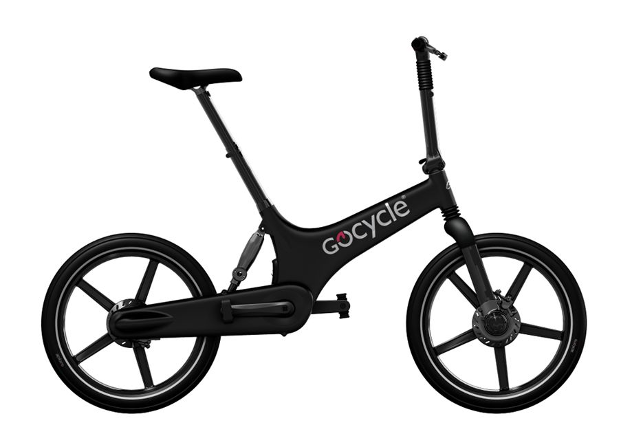 GOCYCLE Designové Elektrokolo GoCycle G2R black