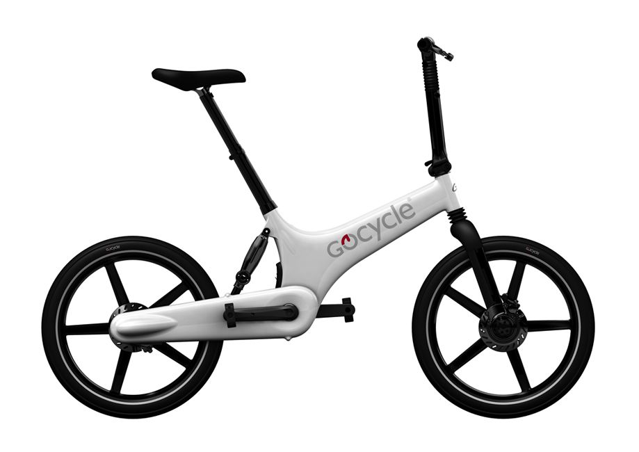 GOCYCLE Designové Elektrokolo GoCycle G2R white