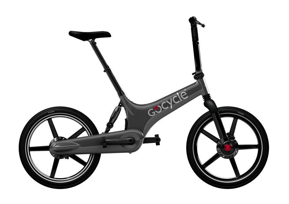 GOCYCLE Designové Elektrokolo GoCycle G2R gray