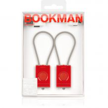 Blikačky na kolo na USB od Bookman, set, red | BUYDESIGN