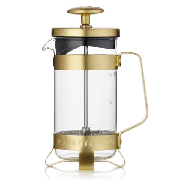 French press 3Cup od BARISTA&Co Gold/zlatý, 350ml