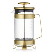 French press Barista 1000 ml, zlatý