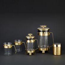 French press 8Cup od BARISTA&Co Gold/zlatý