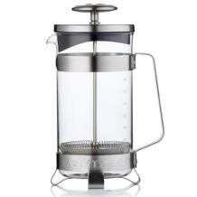French press Barista 1000 ml, stříbrný