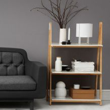 Knihovna Normann Copenhagen One step up Bookcase, malá