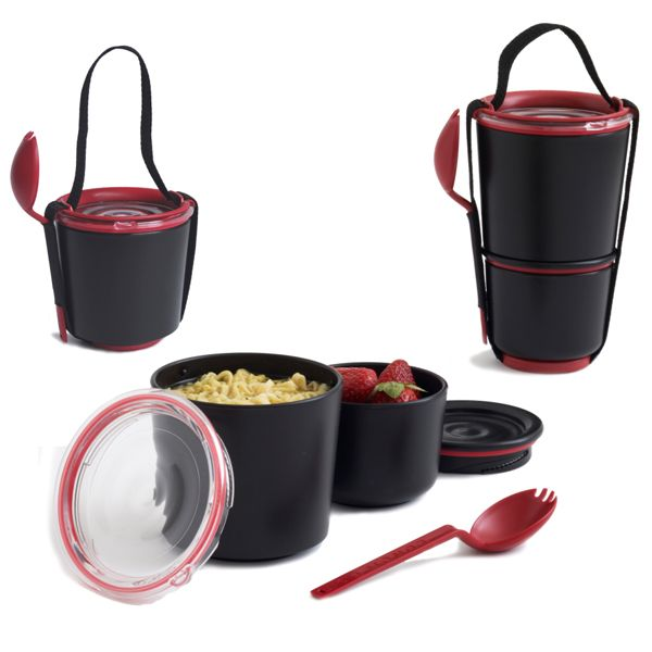 Jídlonosič Lunch Pot, svačinový box, Black Blum