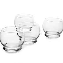 Sklenice Rocking glass, Normann Copenhagen, 4 ks | BUYDESIGN